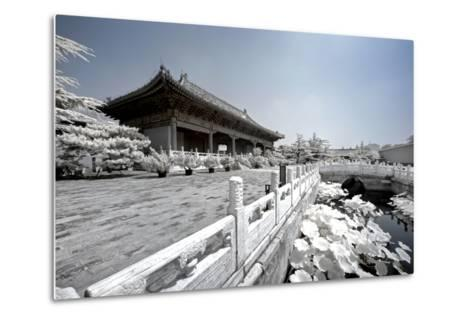 China 10MKm2 Collection - Another Look - Beijing Temple-Philippe Hugonnard-Metal Print