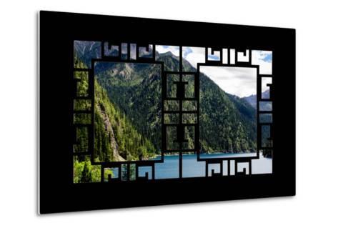 China 10MKm2 Collection - Asian Window - Beautiful Lake in the Jiuzhaigou National Park-Philippe Hugonnard-Metal Print