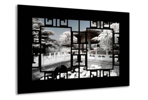 China 10MKm2 Collection - Asian Window - Another Look Series - Forbidden City-Philippe Hugonnard-Metal Print