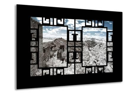 China 10MKm2 Collection - Asian Window - Another Look Series - Great Wall of China-Philippe Hugonnard-Metal Print
