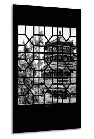 China 10MKm2 Collection - Asian Window - Summer Palace Temple-Philippe Hugonnard-Metal Print
