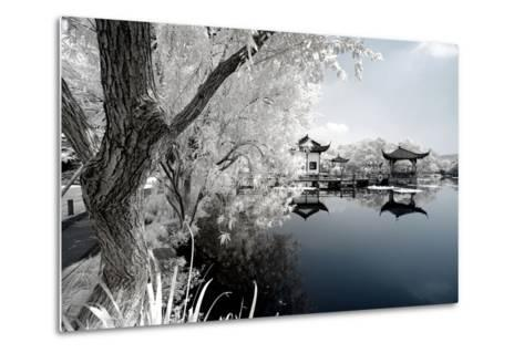 China 10MKm2 Collection - Another Look - Reflection of Temples-Philippe Hugonnard-Metal Print