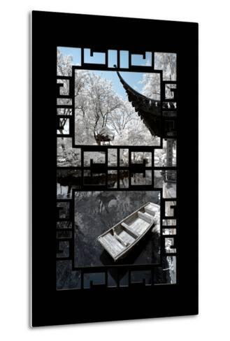 China 10MKm2 Collection - Asian Window - Another Look Series - Boat Trip-Philippe Hugonnard-Metal Print