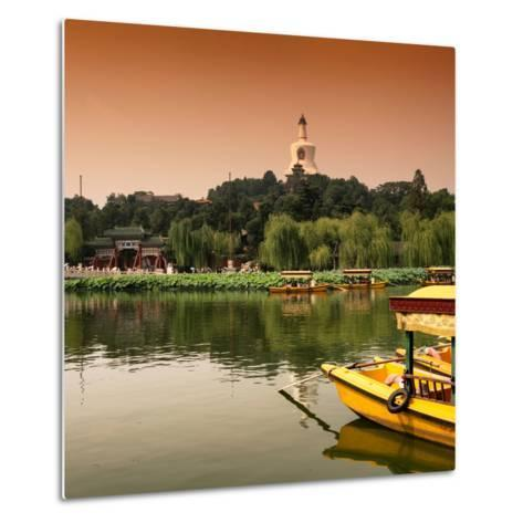 China 10MKm2 Collection - Beihai Park at Sunset - Beijing-Philippe Hugonnard-Metal Print