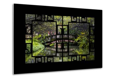 China 10MKm2 Collection - Asian Window - Romantic Bridge-Philippe Hugonnard-Metal Print
