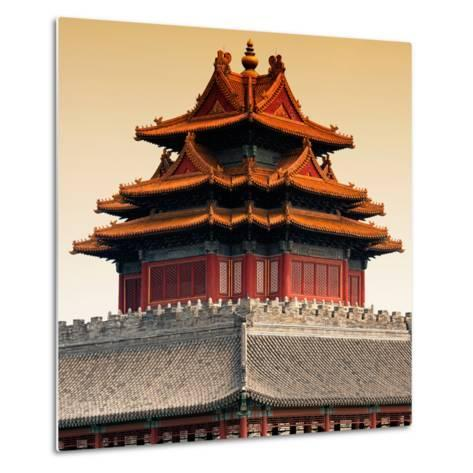 China 10MKm2 Collection - Chinese Architecture - Forbidden City - Beijing-Philippe Hugonnard-Metal Print