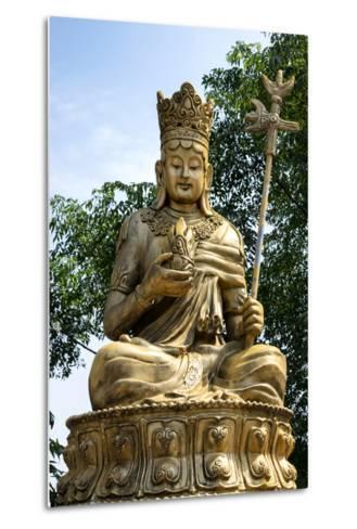 China 10MKm2 Collection - Buddhist Statue-Philippe Hugonnard-Metal Print