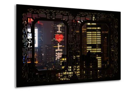 China 10MKm2 Collection - Asian Window - I Love Shanghai-Philippe Hugonnard-Metal Print