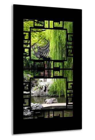 China 10MKm2 Collection - Asian Window - Classical Chinese Pavilion-Philippe Hugonnard-Metal Print