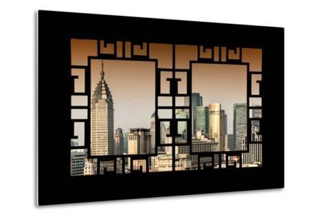 China 10MKm2 Collection - Asian Window - Shanghai Cityscape-Philippe Hugonnard-Metal Print