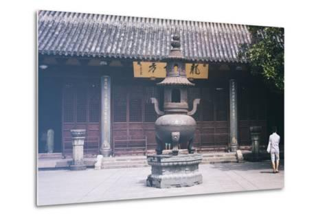 China 10MKm2 Collection - Buddhist Temple-Philippe Hugonnard-Metal Print