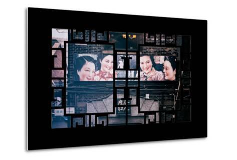 China 10MKm2 Collection - Asian Window - Vintage Chinese Shanghai Girls-Philippe Hugonnard-Metal Print