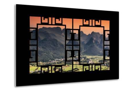 China 10MKm2 Collection - Asian Window - Guilin National Park-Philippe Hugonnard-Metal Print