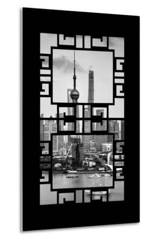 China 10MKm2 Collection - Asian Window - Shanghai Tower-Philippe Hugonnard-Metal Print