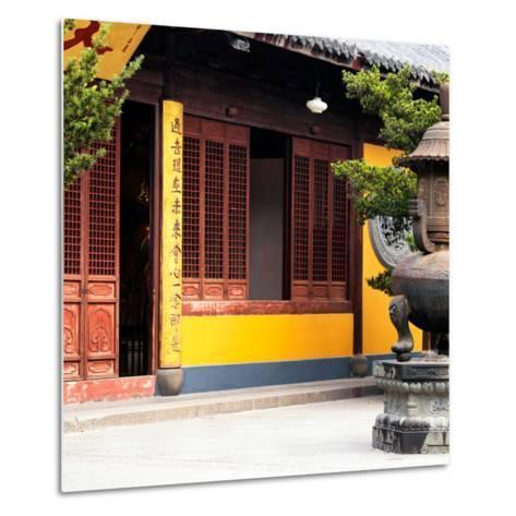 China 10MKm2 Collection - Buddhist Temple-Philippe Hugonnard-Metal Print