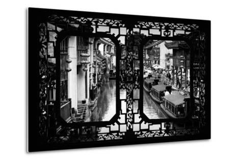 China 10MKm2 Collection - Asian Window - Shantang water Town - Suzhou-Philippe Hugonnard-Metal Print