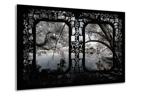 China 10MKm2 Collection - Asian Window - Another Look Series - White Thinking-Philippe Hugonnard-Metal Print