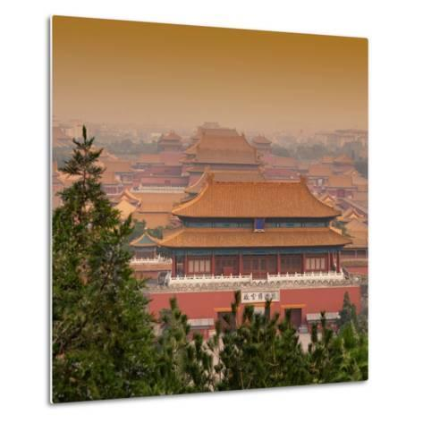 China 10MKm2 Collection - Forbidden City at sunset - Beijing-Philippe Hugonnard-Metal Print