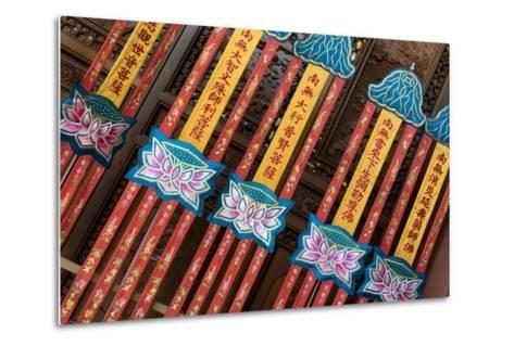 China 10MKm2 Collection - Detail of Buddhist Temple-Philippe Hugonnard-Metal Print
