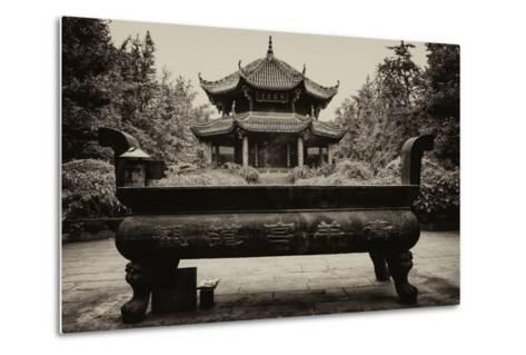 China 10MKm2 Collection - Chinese Temple-Philippe Hugonnard-Metal Print