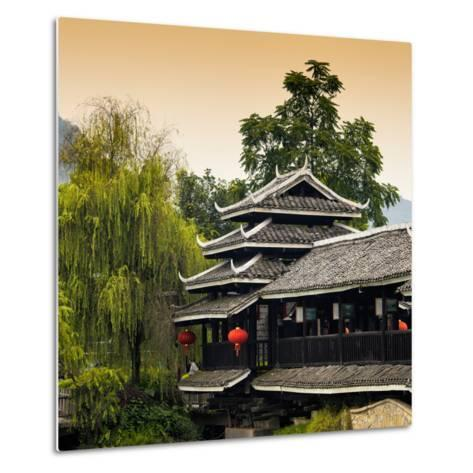 China 10MKm2 Collection - Chinese Buddhist Temple-Philippe Hugonnard-Metal Print