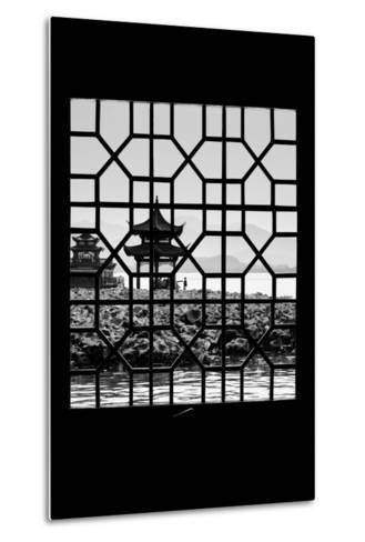 China 10MKm2 Collection - Asian Window - West Lake-Philippe Hugonnard-Metal Print