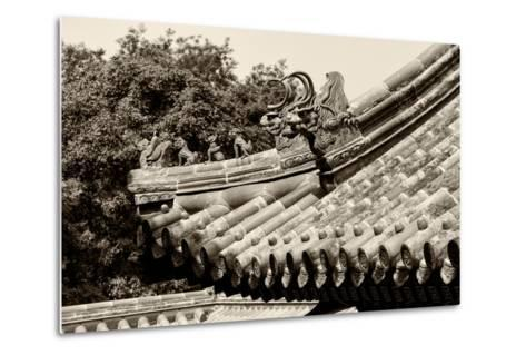 China 10MKm2 Collection - Detail of Lama Temple-Philippe Hugonnard-Metal Print