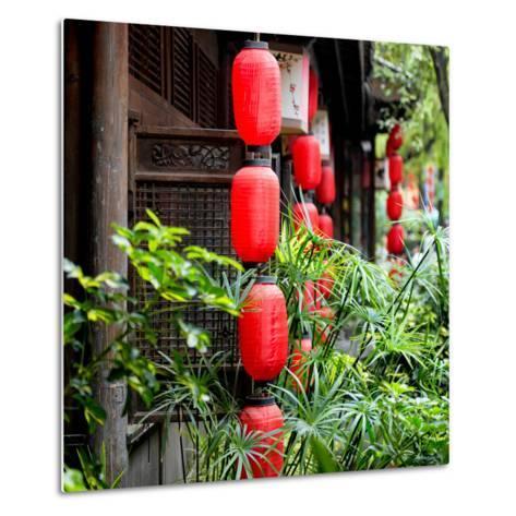 China 10MKm2 Collection - Chinese Lanterns-Philippe Hugonnard-Metal Print