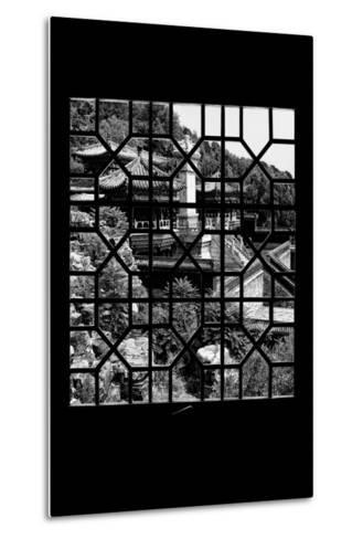 China 10MKm2 Collection - Asian Window - Summer Palace Architecture-Philippe Hugonnard-Metal Print