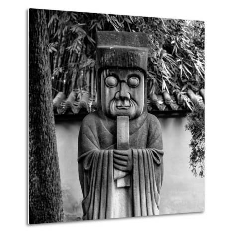 China 10MKm2 Collection - Chinese ancient Statue-Philippe Hugonnard-Metal Print