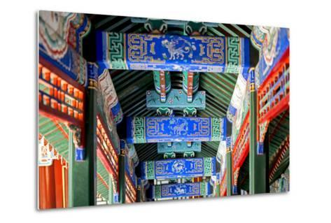 China 10MKm2 Collection - Detail of Imperial Summer Palace-Philippe Hugonnard-Metal Print