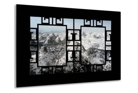 China 10MKm2 Collection - Asian Window - Another Look Series - Yangshuo-Philippe Hugonnard-Metal Print