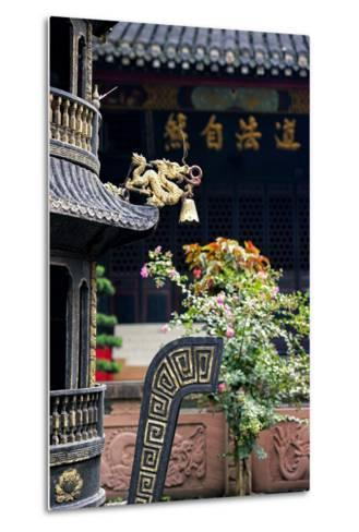 China 10MKm2 Collection - Detail of Brazier and Pagoda-Philippe Hugonnard-Metal Print