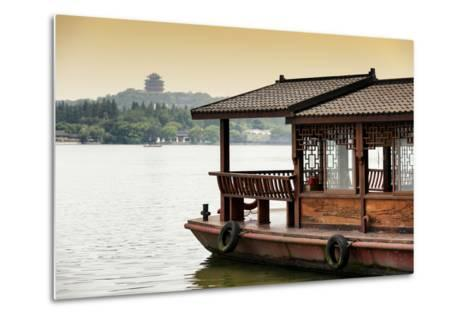 China 10MKm2 Collection - Chinese Traditional Boat-Philippe Hugonnard-Metal Print