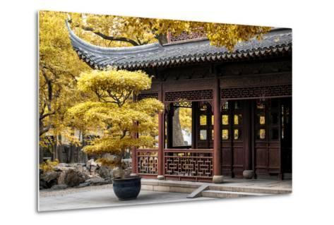 China 10MKm2 Collection - Classical Chinese Pavilion-Philippe Hugonnard-Metal Print