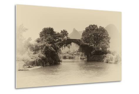 China 10MKm2 Collection - Dragon Bridge on the Yulong river-Philippe Hugonnard-Metal Print