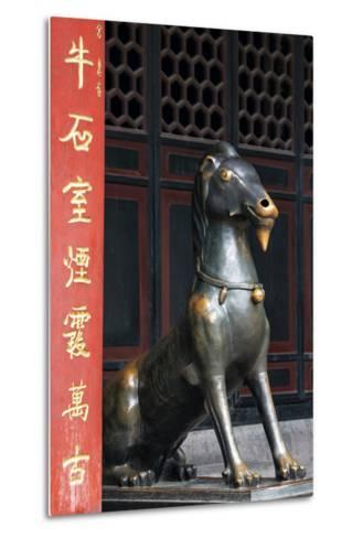 China 10MKm2 Collection - Chinese Statue-Philippe Hugonnard-Metal Print