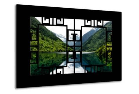 China 10MKm2 Collection - Asian Window - Rhinoceros Lake - Jiuzhaigou National Park-Philippe Hugonnard-Metal Print