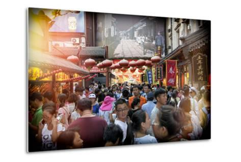 China 10MKm2 Collection - Chinese Street Atmosphere-Philippe Hugonnard-Metal Print