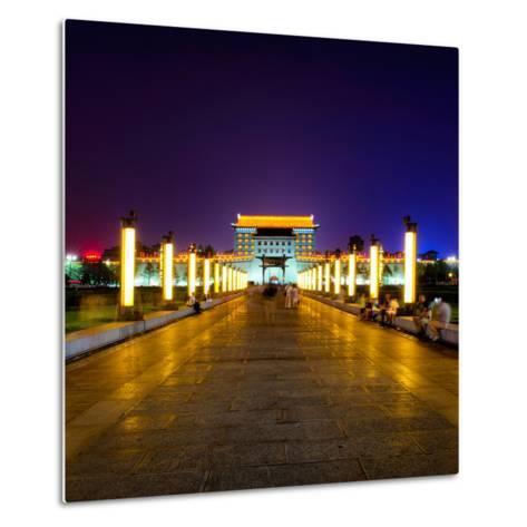 China 10MKm2 Collection - City Lights - Xi'an City-Philippe Hugonnard-Metal Print