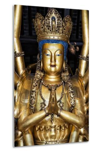 China 10MKm2 Collection - Golden Buddha-Philippe Hugonnard-Metal Print