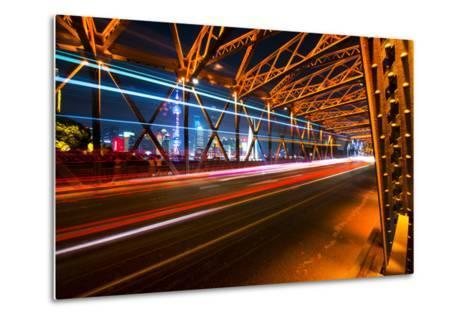 China 10MKm2 Collection - Colorful Garden Bridge - Shanghai-Philippe Hugonnard-Metal Print