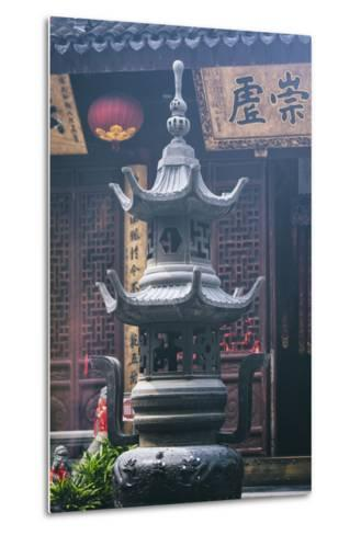 China 10MKm2 Collection - Detail Buddhist Temple-Philippe Hugonnard-Metal Print