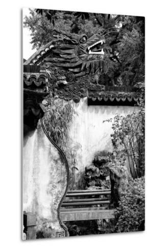 China 10MKm2 Collection - Chinese Dragon Head-Philippe Hugonnard-Metal Print