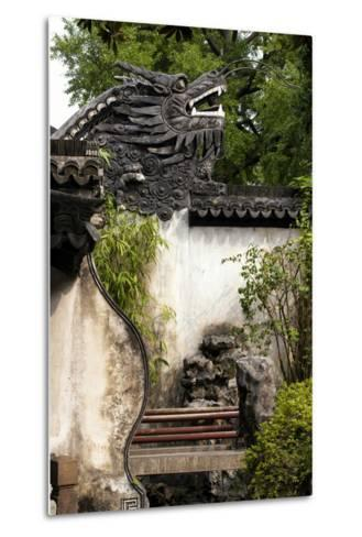 China 10MKm2 Collection - Chinese Dragon Head-Philippe Hugonnard-Metal Print