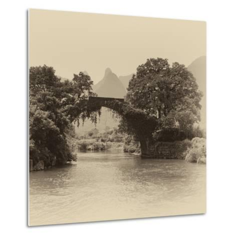 China 10MKm2 Collection - Guilin Yangshuo Bridge-Philippe Hugonnard-Metal Print
