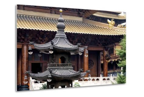 China 10MKm2 Collection - Jing An Temple - Shanghai-Philippe Hugonnard-Metal Print