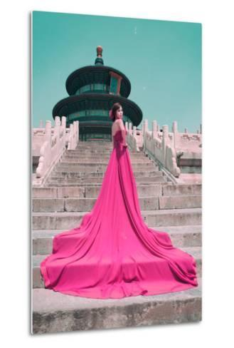 China 10MKm2 Collection - Instants Of Series - Fashion Pink-Philippe Hugonnard-Metal Print