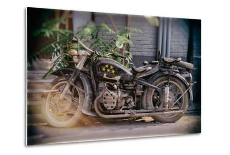 China 10MKm2 Collection - Instants Of Series - Motorcycle Five Stars-Philippe Hugonnard-Metal Print
