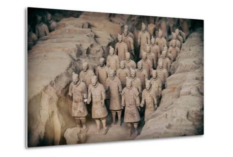 China 10MKm2 Collection - Instants Of Series - Terracotta Army-Philippe Hugonnard-Metal Print